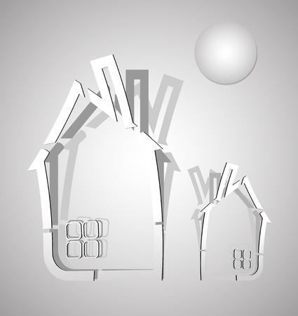 abstract real estate  Vector