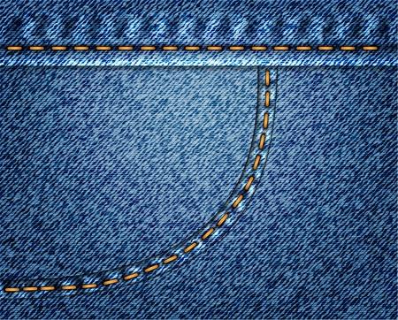 Jeans vector background Vector