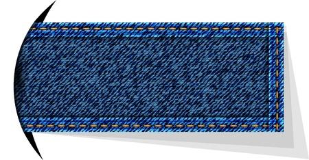 Jeans vector background Stock Vector - 13230057