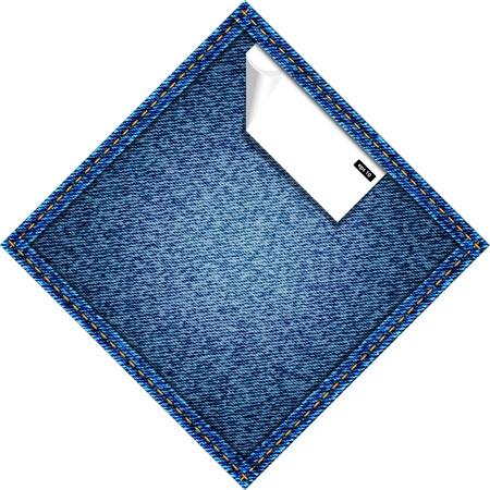 Jeans vector background Stock Vector - 13230056