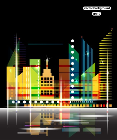 City Landscape vector Vector
