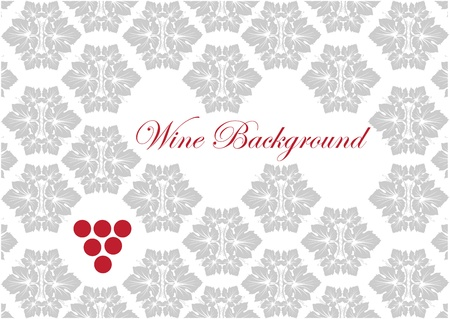 wine card background  Vector