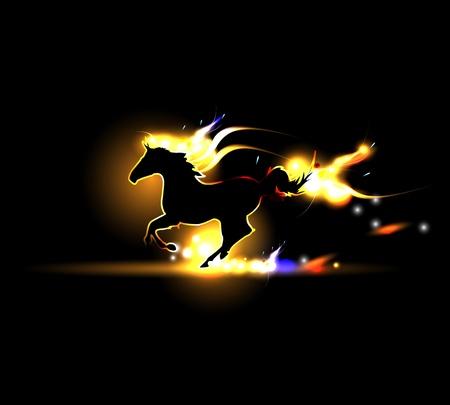 horse races: Flash caballo