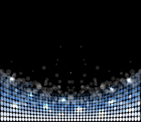 retro disco: luz abstracta estrellas discoteca de fondo