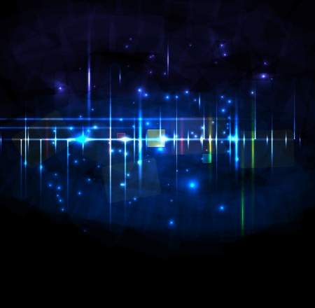 Abstract dark star backround editable Stock Vector - 14698639