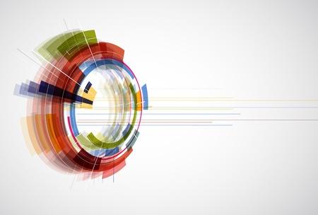 Abstract bright Technologie editierbare dinamic Hintergrund