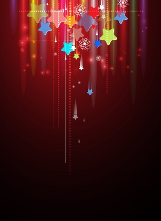 abstract backround: Abstract holiday sky star backround editable vector
