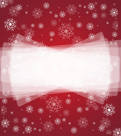 spindrift: merry christmas background and happy new year snowfall Illustration