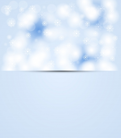 christmas and new year day sky snowing Stock Vector - 15029234