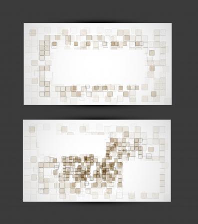 businesslike: configurar la tarjeta de negocios oif cubo abstracto