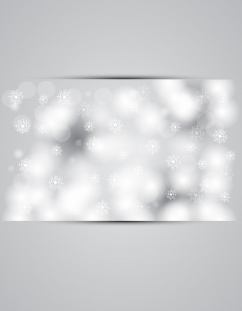 snowbank: christmas and new year day sky snowing banner