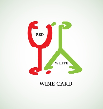 wine card: wine card concept background alcohol drink glass
