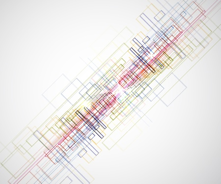 Abstract bright technology dynamic fade background Stock Photo - 15427341