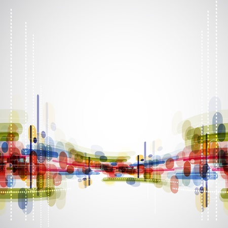 Abstract bright technology dynamic fade background Stock Photo - 15684939