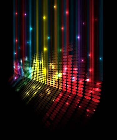 are sound: volumen abstracto concepto musical ecualizador idea de fondo Vectores