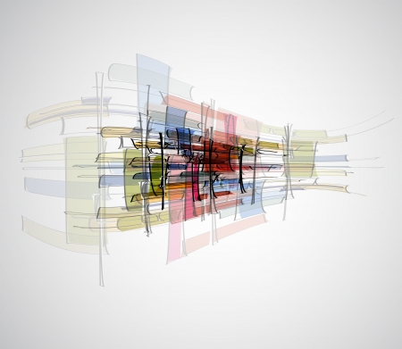 fade: Abstract bright technology dynamic fade background Stock Photo