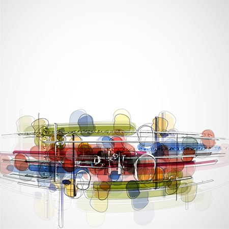 Abstract bright technology dynamic fade background photo
