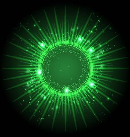 abstrakte Sterne am dunklen Himmel Raum Loch-Portal