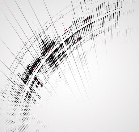 overdracht: Abstracte heldere Dynamisch fade achtergrond