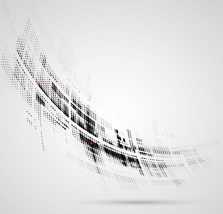 fade: Abstract bright technology dynamic fade background Illustration