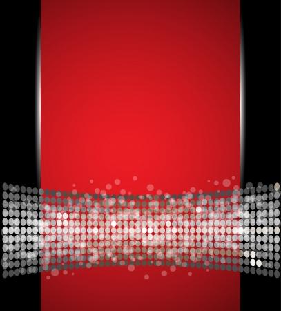abstract spotlight disco light stars vector background Stock Vector - 16549463