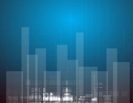 real estate city landscape urban Stock Vector - 16576665