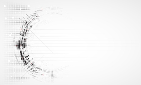 Abstract new technology dynamic fade banner background