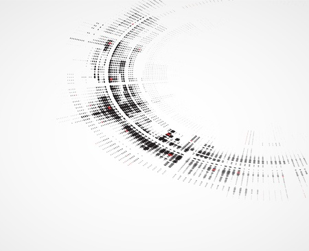 fade: Abstract round technology dynamic fade background