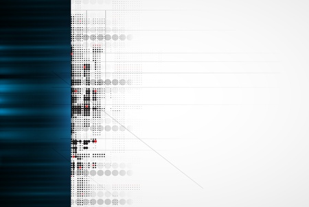 virtual space: Abstract high technology dynamic fade banner background