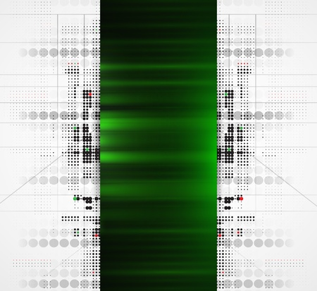 Abstract green high technology dynamic fade banner background Stock Vector - 16667183