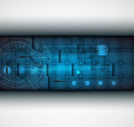 abstract futuristic grey line technology business banner background Stock Vector - 16952598