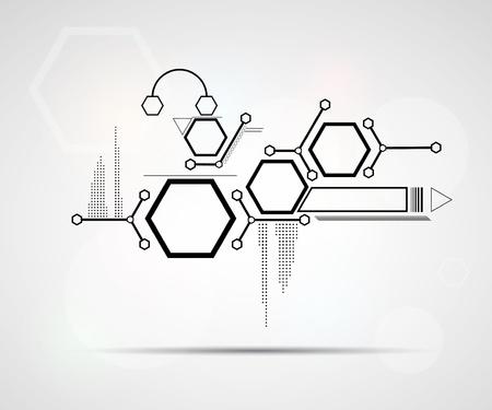 Social network połączone tła komórki