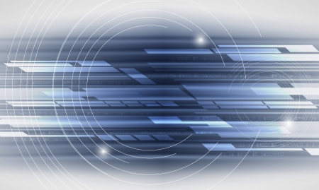 abstract futuristic computer technology business banner Vector