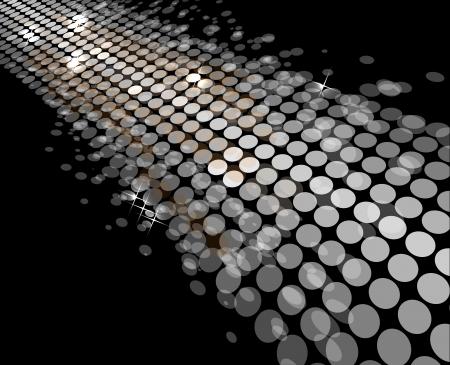 luz del disco las estrellas de fondo abstracto forma de baile