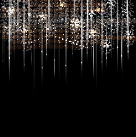 disco lichte regen sterren abstracte dans achtergrond Vector Illustratie