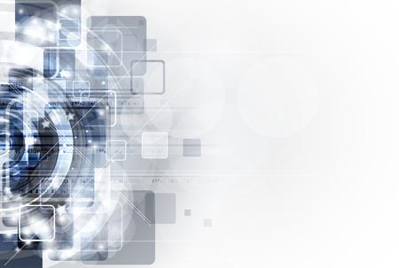 abstrait gris ordinateur technologie bannière blanc business