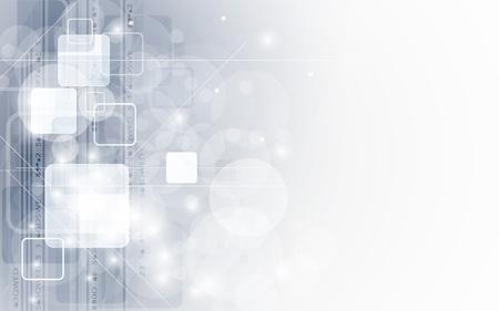 抽象的な灰色テクノロジー ビジネスのバナーの背景 ベクターイラストレーション