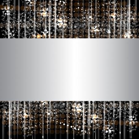 abstract dance: disco light stars abstract dance banner