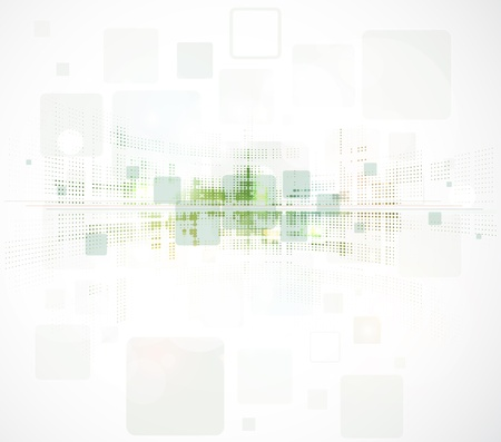 abstract eco green computer technology business background texture Vector