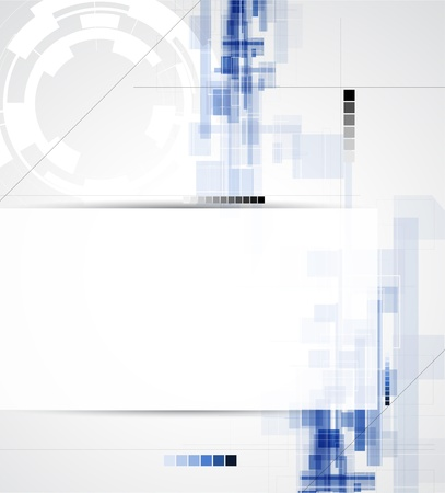 abstract blur computer technology business background Stock Vector - 17514860
