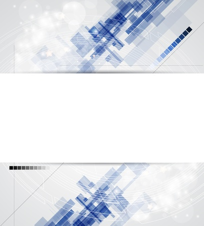 abstract blur computer technology business banner background Stock Vector - 17514857