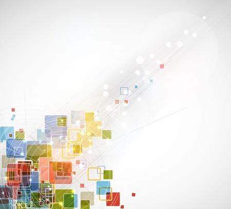 抽象的な灰色の未来的なレイ コンピューター技術ビジネスの背景