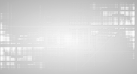 grey abstract background: abstract paper grey futuristic computer technology business background Illustration