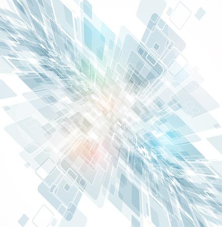 Résumé de lumière l'espace Technologie circuit ordinateur illustration vectorielle de fond