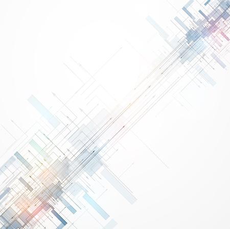 抽象的な色空間回路サイバー ハイテク ビジネスの背景