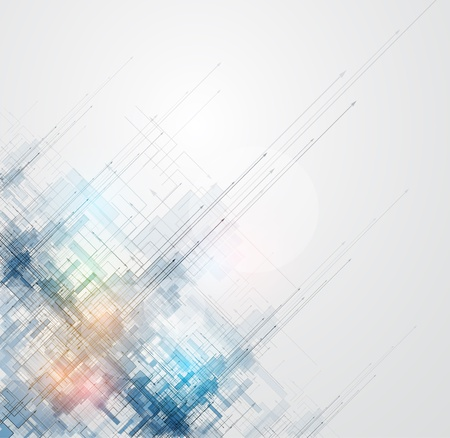 technologie: abstract space ray obvod cyber špičkové technologie obchodní zázemí