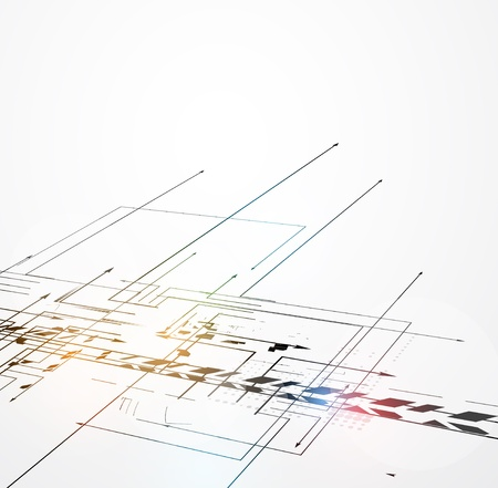 fade: abstract futuristic fade computer technology business background