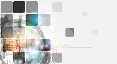 ingenieria industrial: futurista fade equipo fondo de tecnolog�a de negocios Vectores
