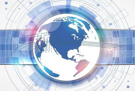 ingenieria industrial: futurista internet de alta tecnolog�a de antecedentes negocio de las computadoras