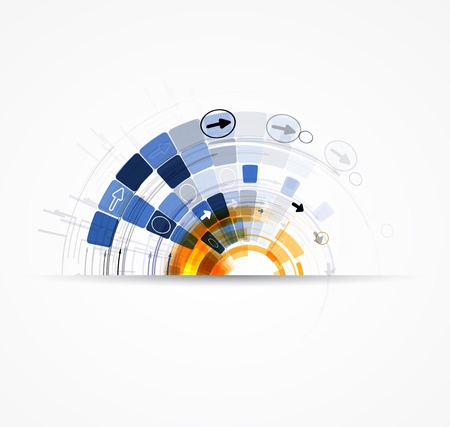 consistency: abstract futuristic internet high computer technology business background Illustration